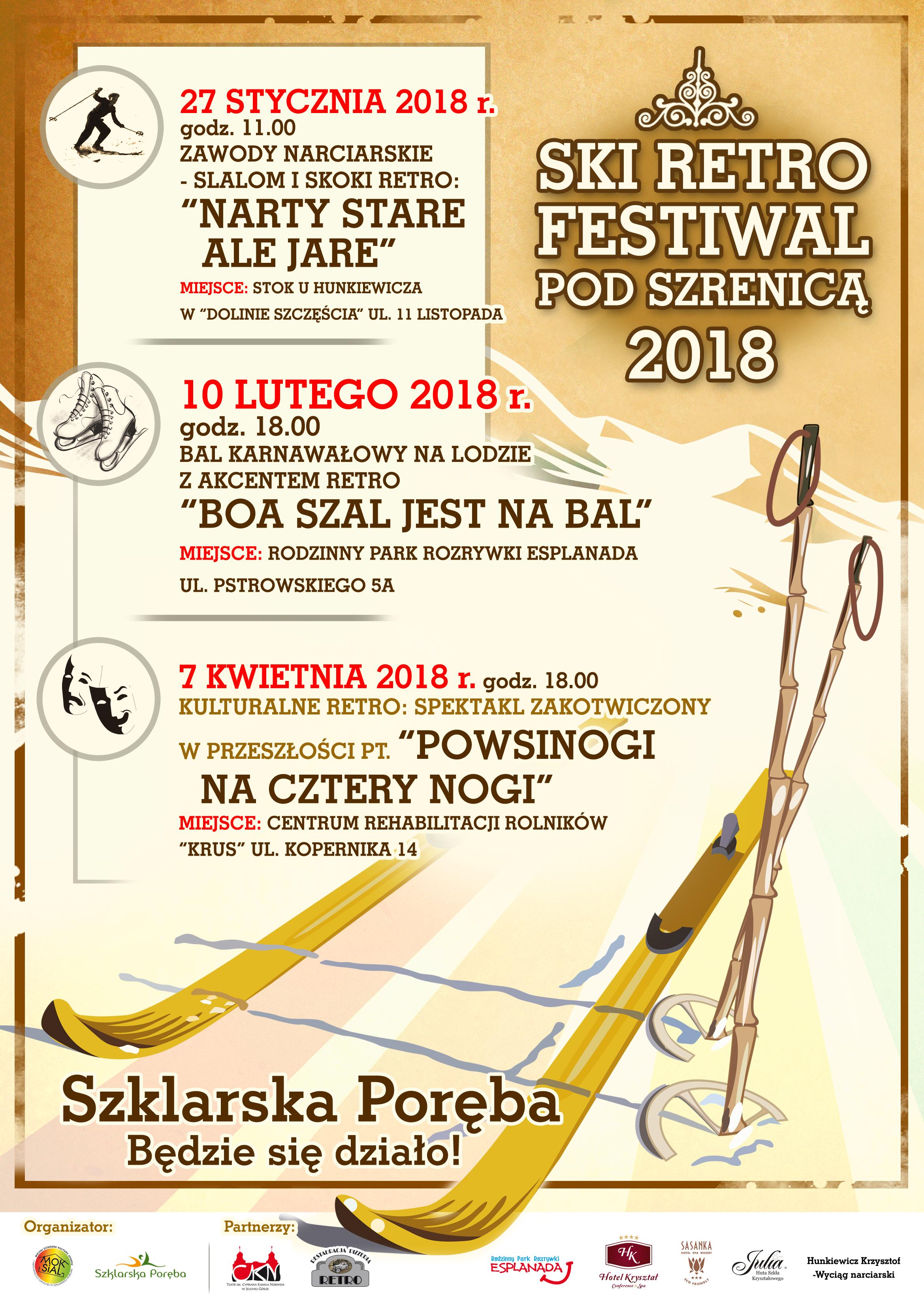 Ski Retro Festiwal pod Szrenicą