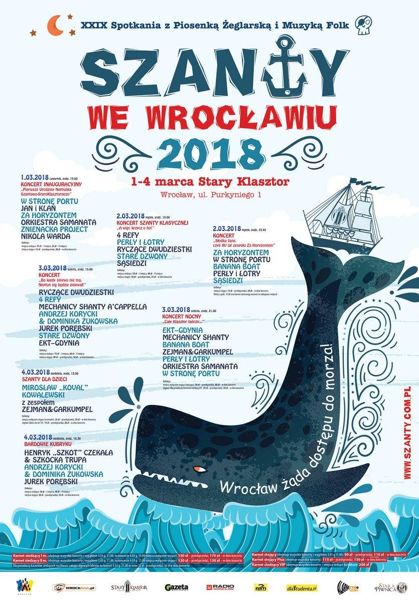 """Festiwal """"Szanty we Wrocławiu"""""""