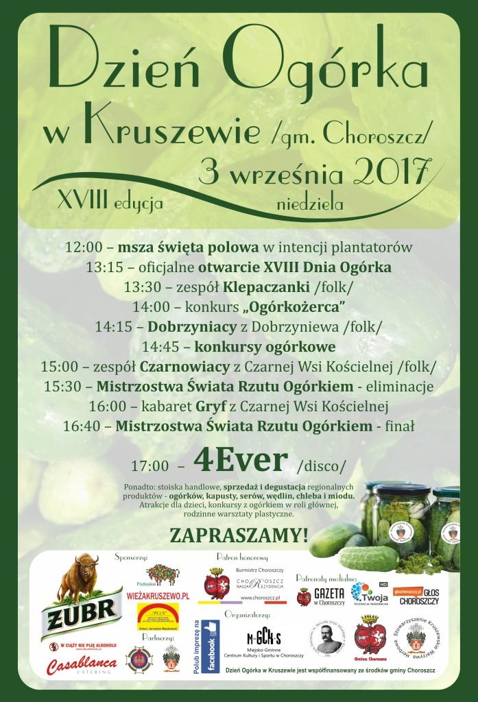 Ogólnopolski Dzień Ogórka w Kruszewie