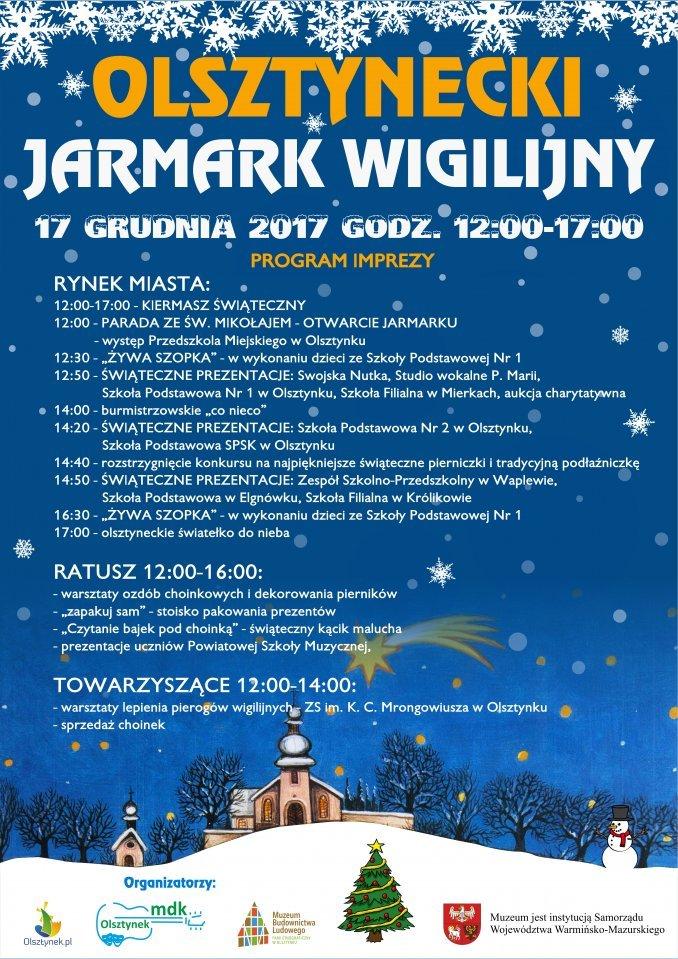 Olsztynecki Jarmark Wigilijny