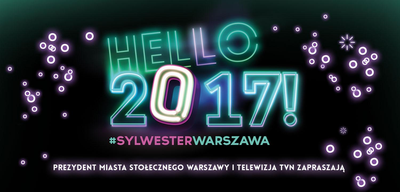 Sylwester miejski 2016 w Warszawie
