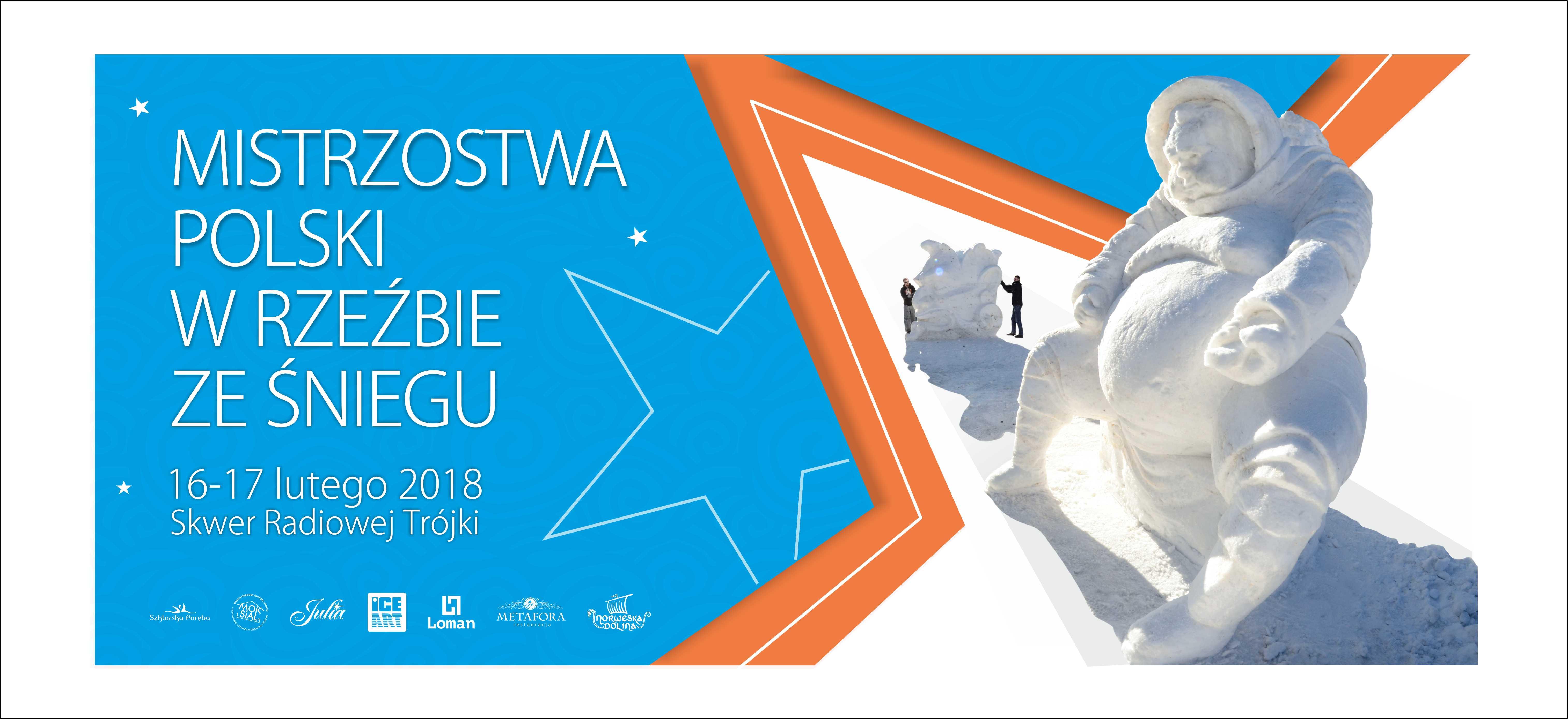 Trójka Górom - Mistrzostwa Polski w Rzeźbie ze Śniegu