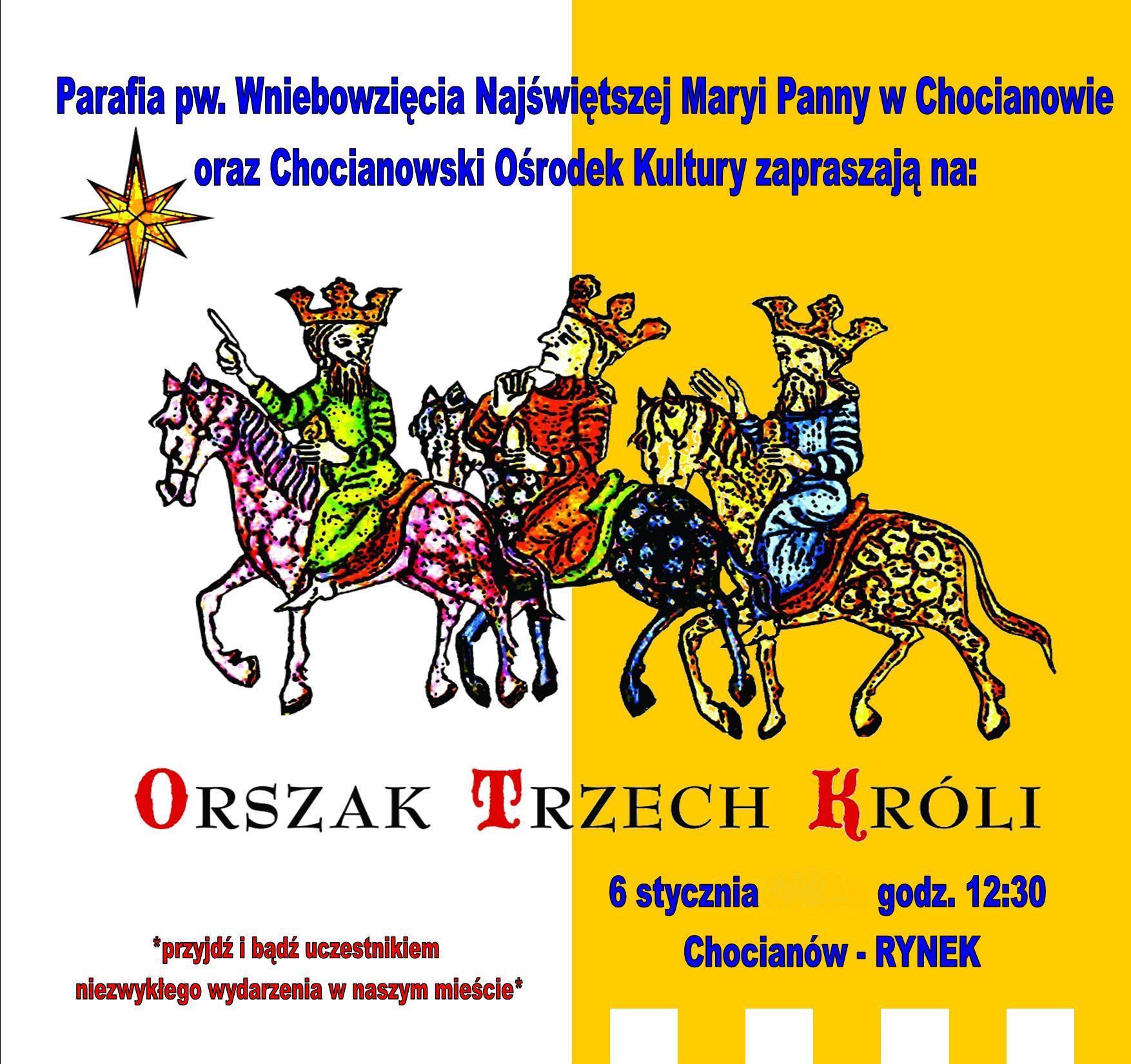 Orszak Trzech Króli w Chocianowie