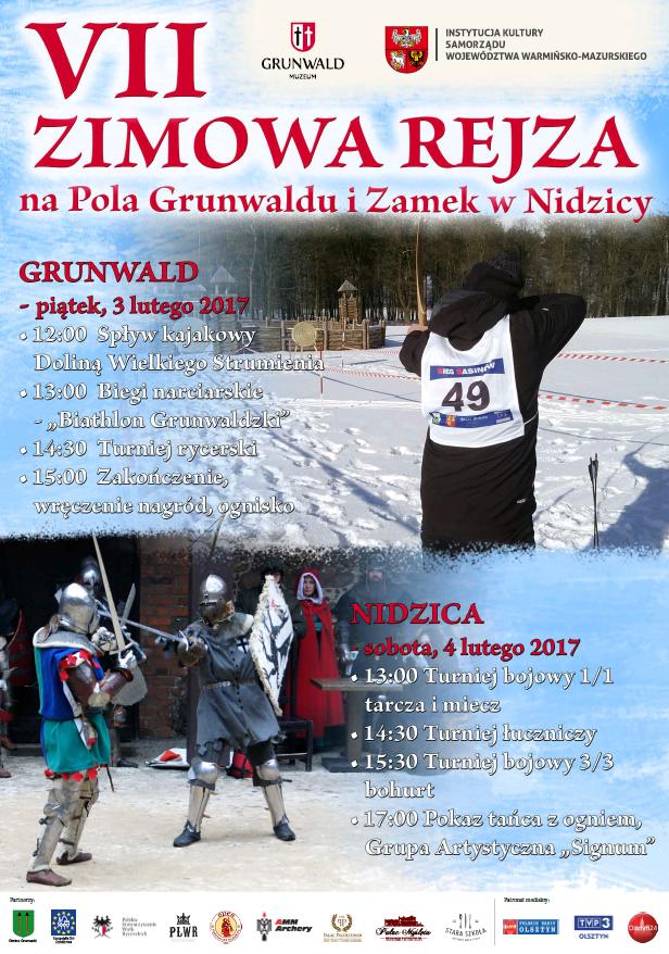 Zimowa Rejza na Pola Grunwaldu i Zamek w Nidzicy