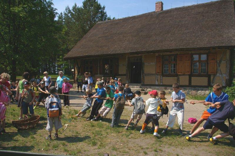 Dzień Dziecka w Kaszubskim Parku Etnograficznym