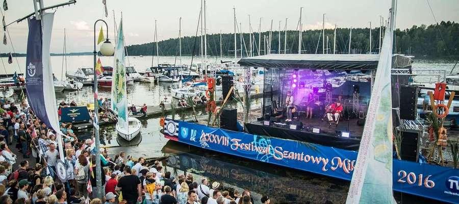 Festiwal Szantowy w Mikołajkach