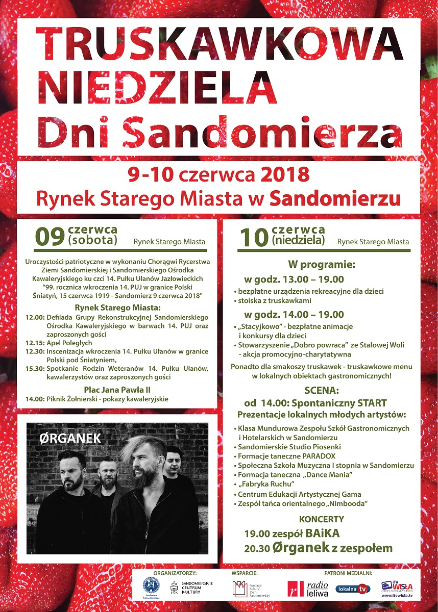 Dni Sandomierza -Truskawkowa Niedziela
