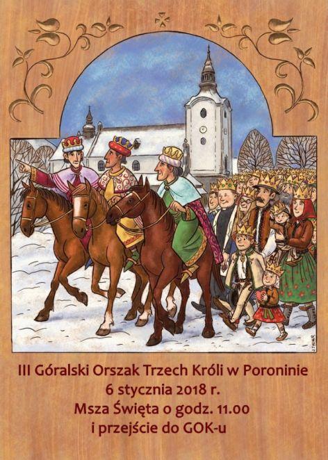 Góralski Orszak Trzech Króli w Poroninie