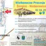 Wielkanocna Procesja Konna Żernica - Nieborowice