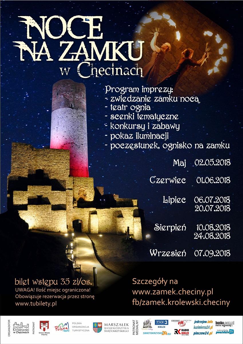 Noce na Zamku w Chęcinach
