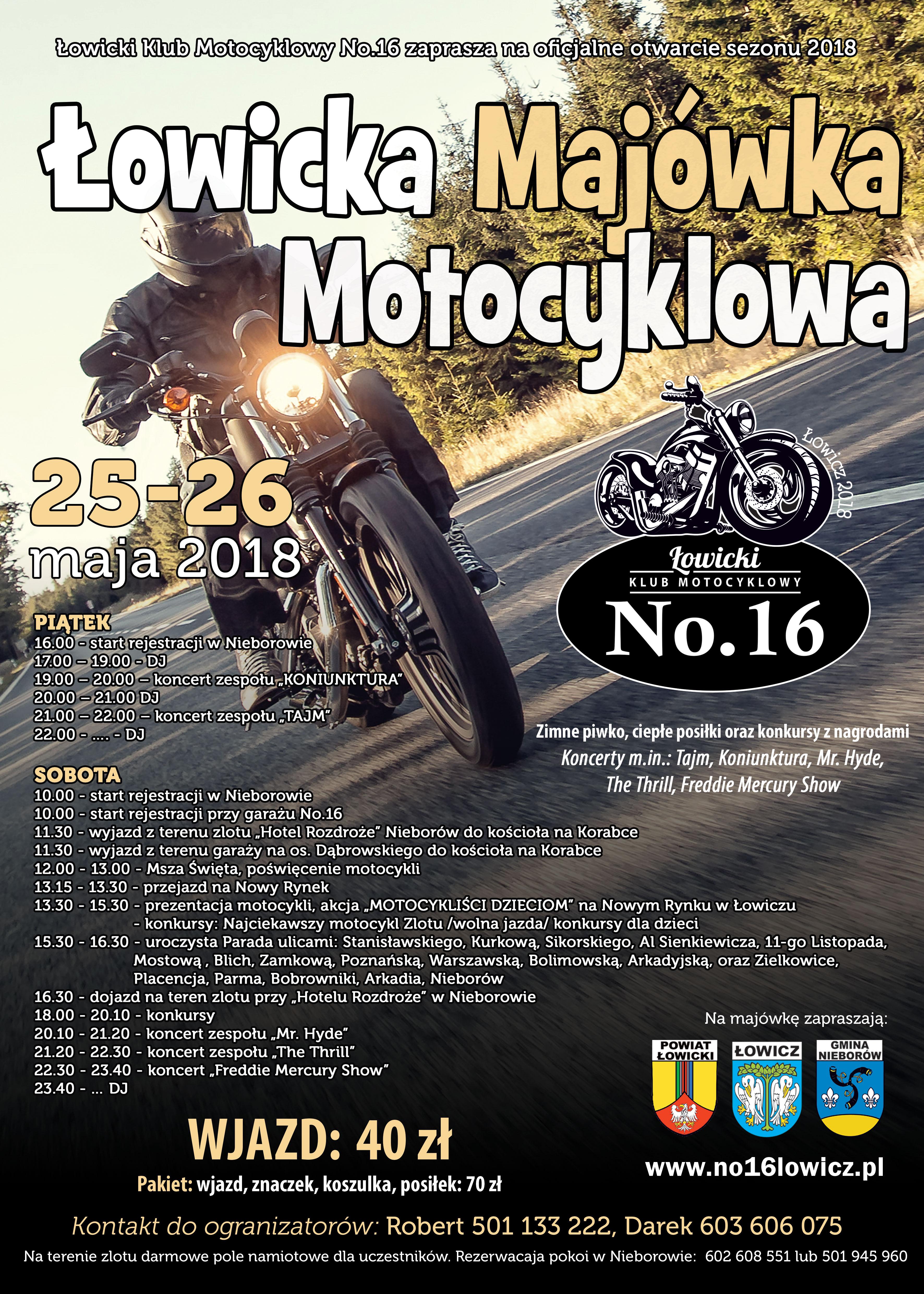 Łowicka Majówka Motocyklowa
