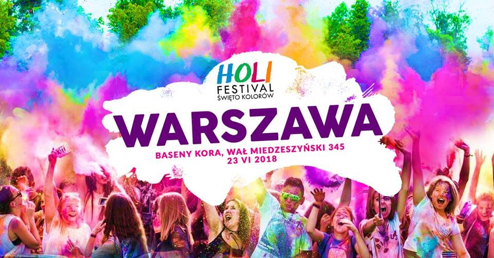 Holi Festiwal - Święto Kolorów