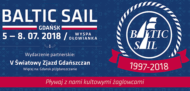 Zlot Zaglowców Baltic Sail Gdańsk