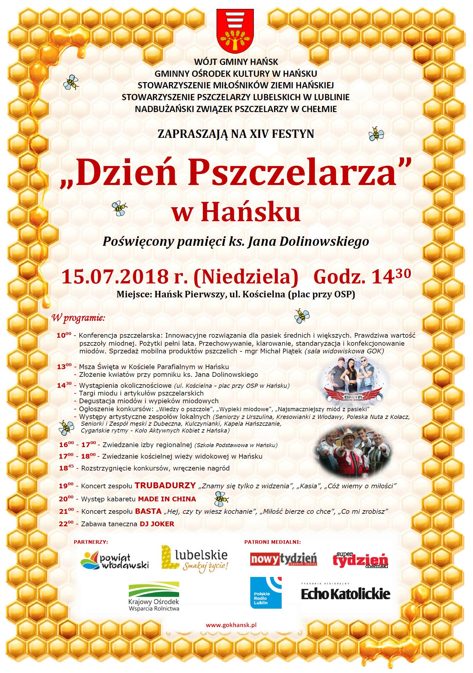 Festyn Dzień Pszczelarza