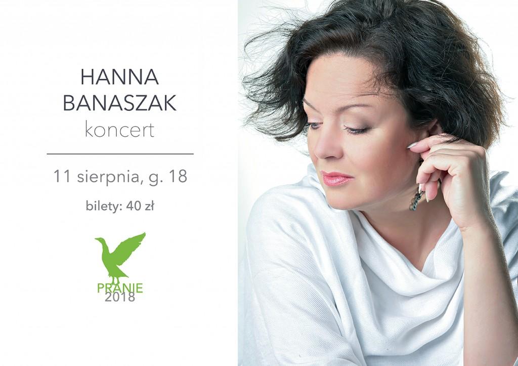 Koncert Hanny Banaszak
