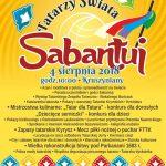 SABANTUJ Tatarzy Świata - Ogólnopolski Festiwal Kuchni Tatarskiej