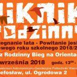 """Piknik Rodzinny """"Pożegnanie lata – Powitanie Jesieni"""""""