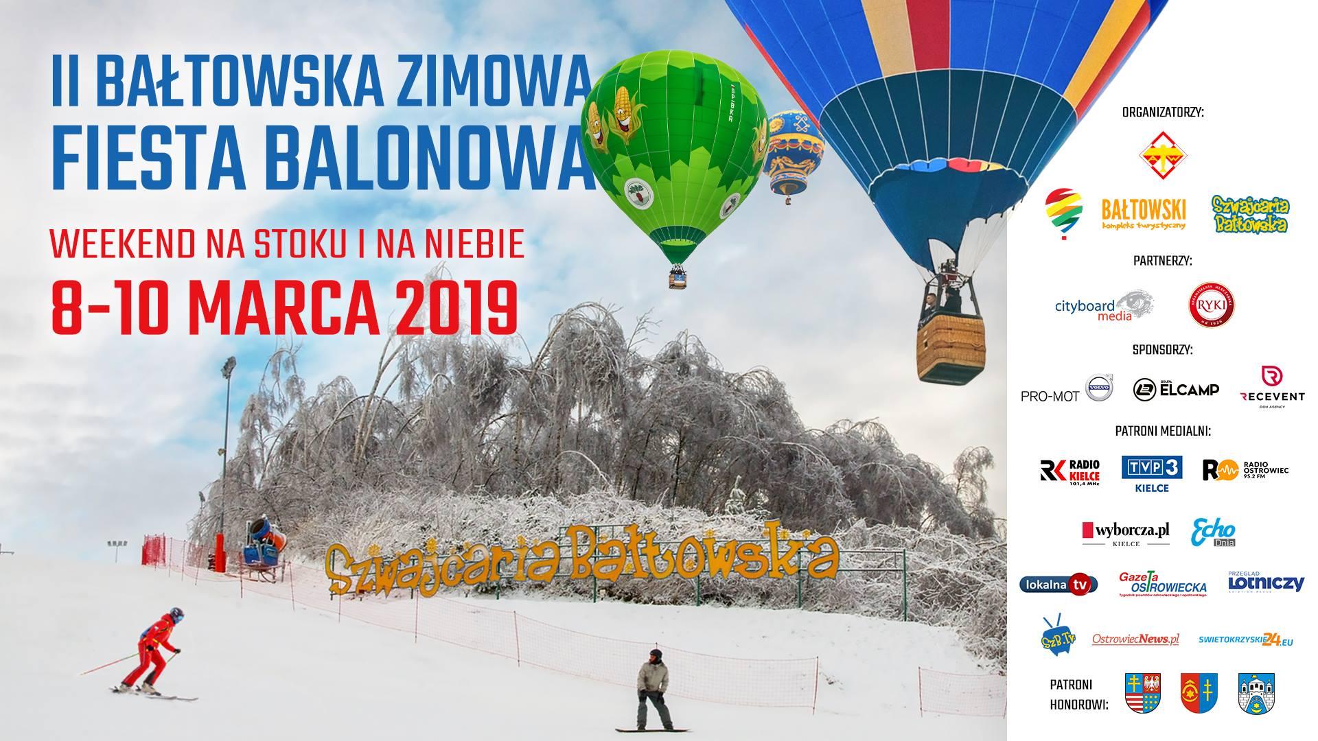 Bałtowska Zimowa Fiesta Balonowa