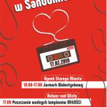 Puszczanie Wodnych Lampionów Miłości / Walentynki w Sandomierzu