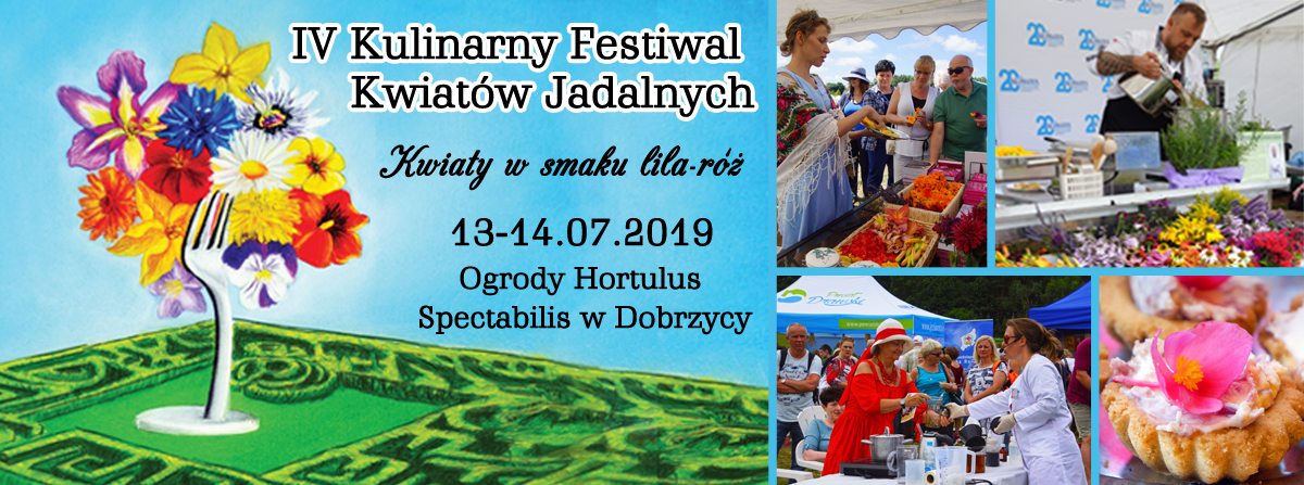 Festiwal Kwiatów Jadalnych