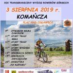 Maraton MTB Tropami Żbików / XIX Transgraniczny Wyścig Rowerów Górskich