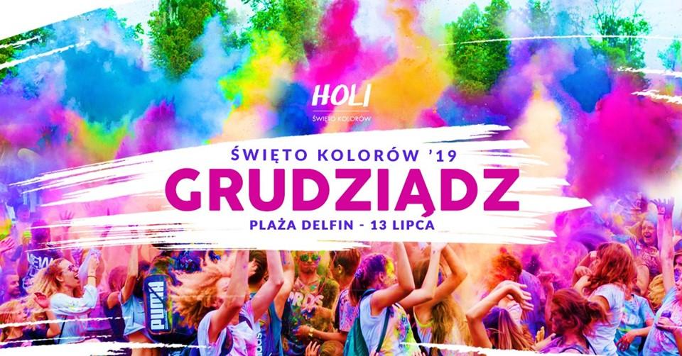 Holi Festival - Święto Kolorów w Grudziądzu