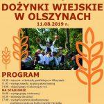 Dożynki wiejskie w Olszynach