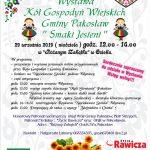 Smaki Jesieni - Wystawa Kół Gospodyń Wiejskich Gminy Pakosław